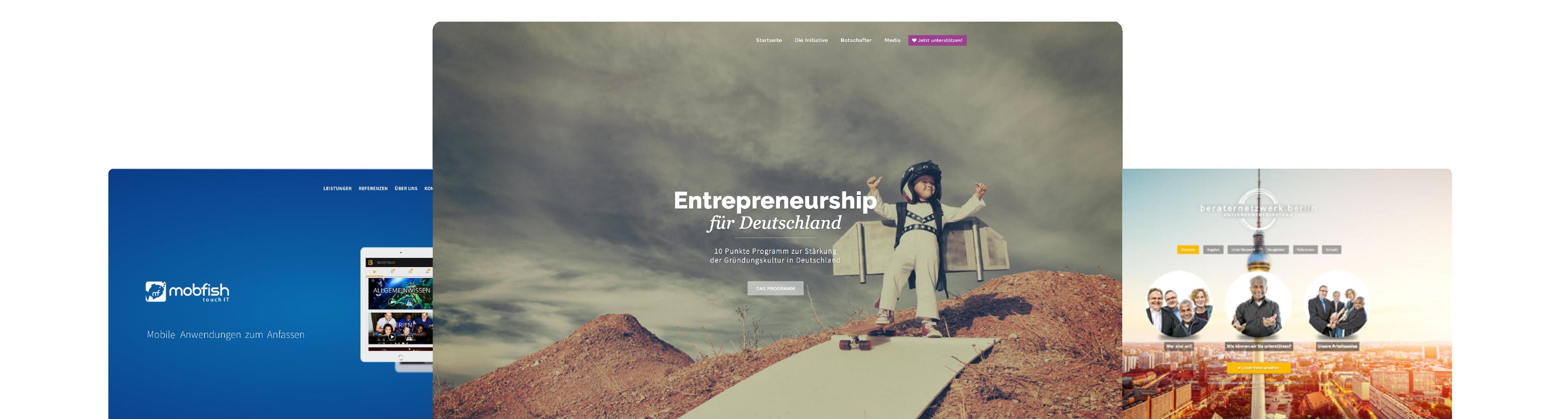 Webdesign von vapintar GmbH